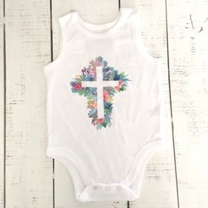 Covenant Holy Cross Baby Onesie by HolyHaus